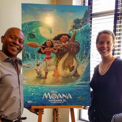 The Animation of Disney's Moana: An Interview with Marlon West #MoanaEvent #MoanaArtistTour