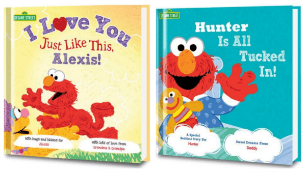 how to make a personalized children's book elmo