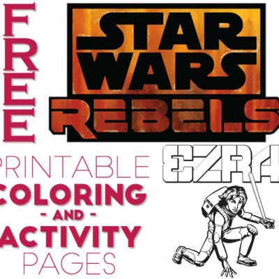 star wars rebels coloring pages and activity sheets