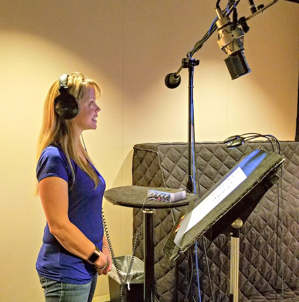 disney recording booth