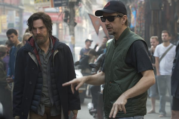 scott derrickson on set of doctor strange
