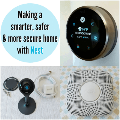safe smart home with nest devices