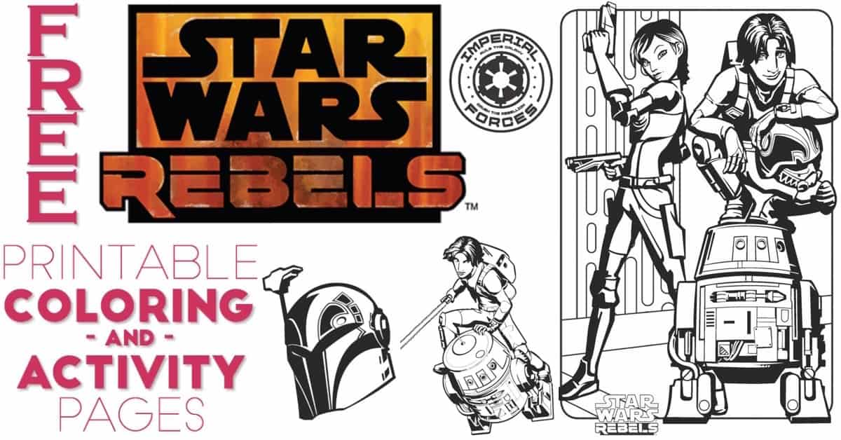 Free Star Wars Rebels Coloring