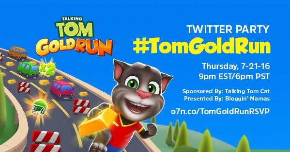 talking tom gold rush