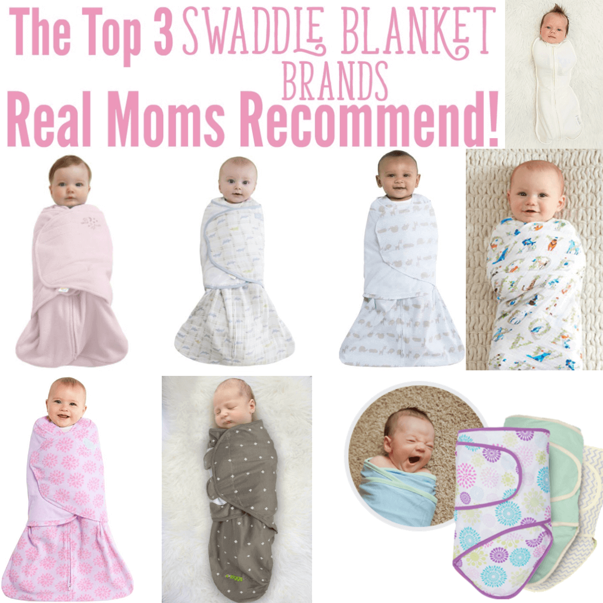 top 3 swaddle blanket brands
