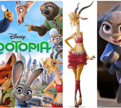 The Hidden Mickeys in Zootopia + Blu-ray Bonus Features